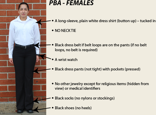 Professional Business Attire Female