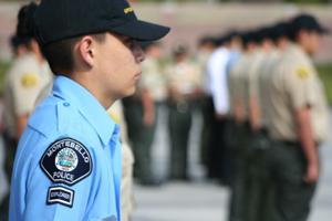 Participating Police Explorer Posts